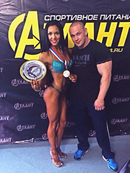 Виктория Сочнева, 1-е место в номинации фитнес-бикини юниорки