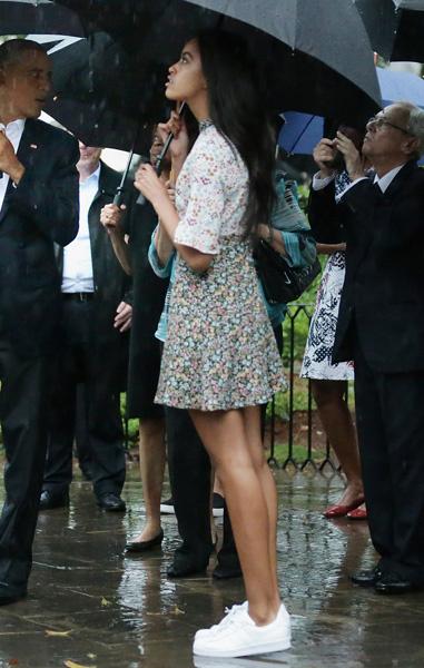Малия Обама на Кубе