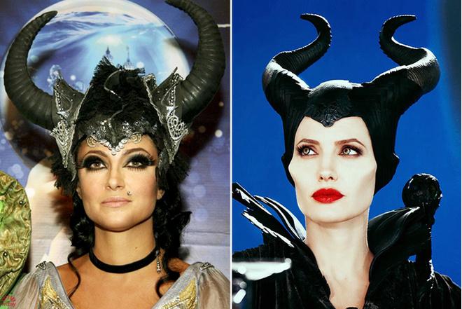 Анастасия Макеева копирует Анджелину Джоли: фото