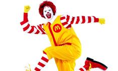 В борьбе с ожирением пострадает клоун Рональд Макдональд