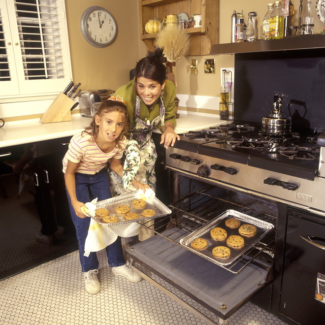как определить температуру в духовке без термометра