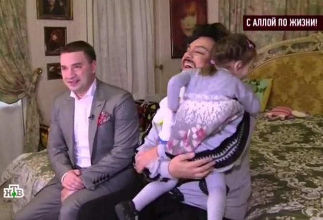 Киркоров с дочкой фото