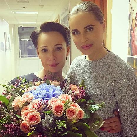 Чулпан Хаматова и Юлия Михалкова, фото