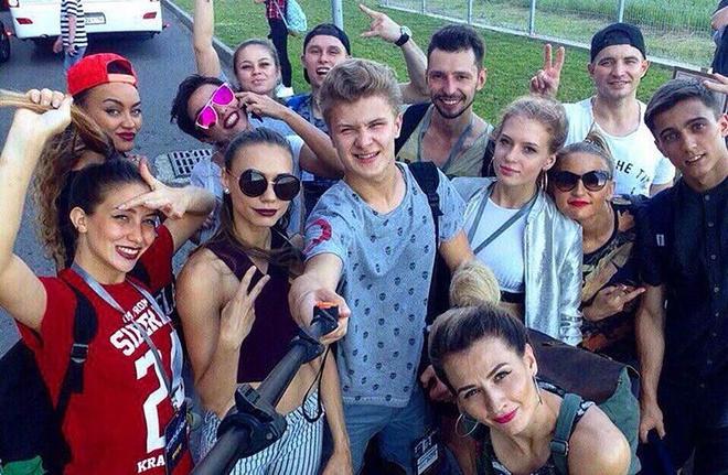 Красноярские танцовщики на кастинге