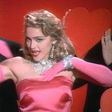 Мадонна в клипе Material Girl
