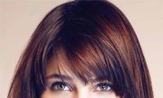 Прическа для средних волос. Фото