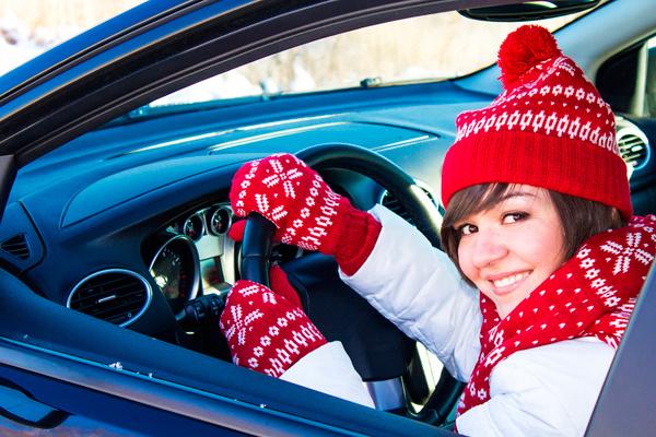 как водить машину зимой