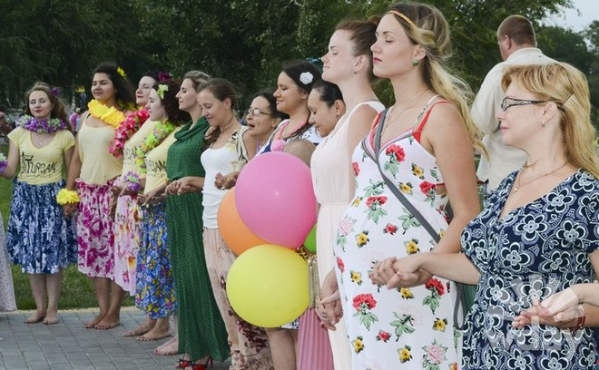 День женственности в Волгограде