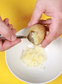 Новый год, мясо, картофель, Рождество, говядина, Новогодние блюда, новогодний стол, основное блюдо, горячее, новогодние рецепты, кулинарный мастер-класс, фаршированный картофель, праздничный рецепт, праздничные блюда