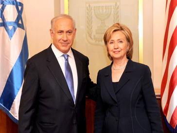 Биньямин Нетаниягу провел встречу с Хиллари Клинтон