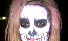 Кэти Перри пришла на праздник в маске скелета