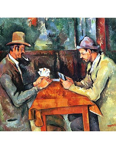 «Игроки в карты», Поль Сезанн
