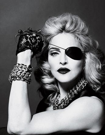 Мадонна в журнале Interview
