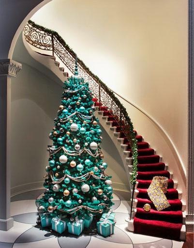 Оформление торгового зала Tiffany & Co
