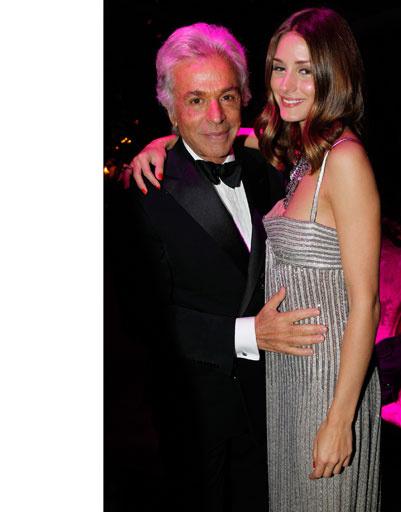 Оливия Палермо (Olivia Palermo) и Жанкарло Гаметти (Giancarlo Giametti)