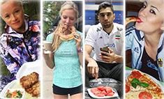 Бургеры и стейки: что едят спортсмены перед Олимпиадой в Рио