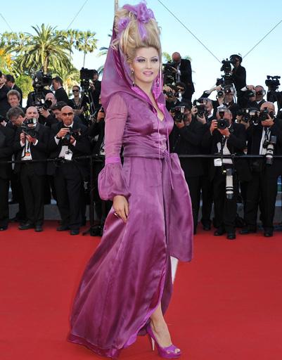 Лена Ленина на Каннском кинофестивале, 2012 год