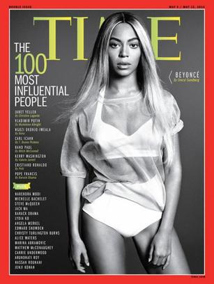 Журнал Time назвал Бейонсе самым влиятельном человеком в мире