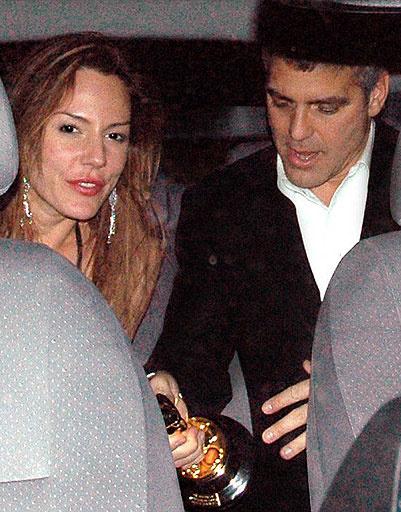 Джордж Клуни (George Clooney) и Криста Аллен (Krista Allen)