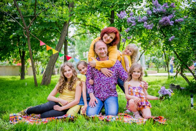 Мамы с детьми: красивые фото