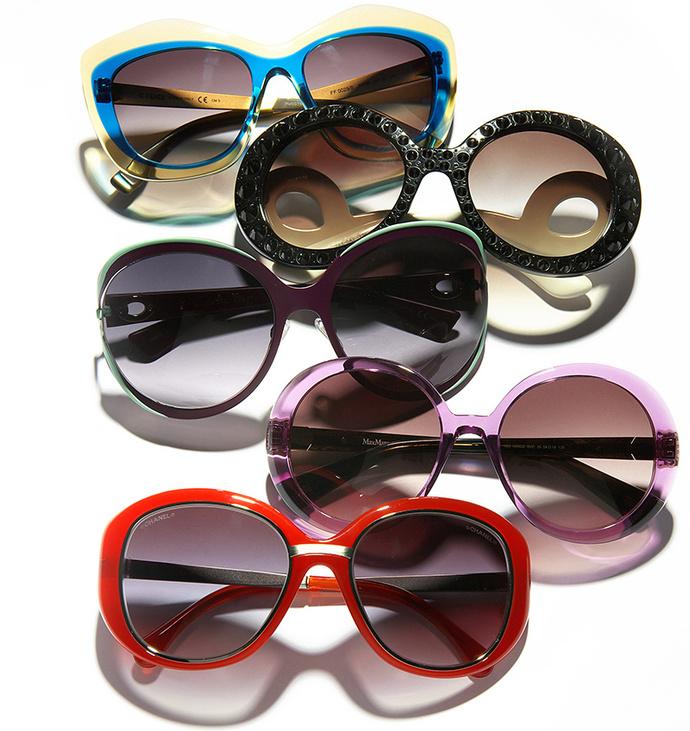 модные солнцезащитные очки 2014