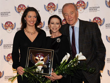 В Москве чествовали лучших деятелей театра 2010 года