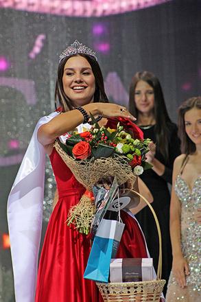 Регина Миначева вторая вице-мисс Мисс Волга 2015