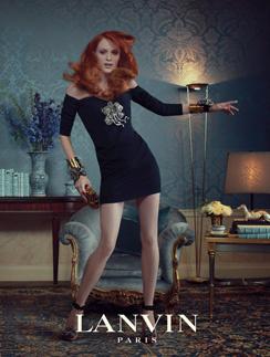 Рекламная кампания Lanvin, сезон осень-зима 2011/2012