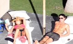 Дженнифер Энистон и Джастин Теру проводят каникулы в Мексике