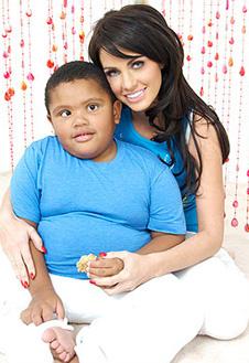 Джордан с сыном Харви