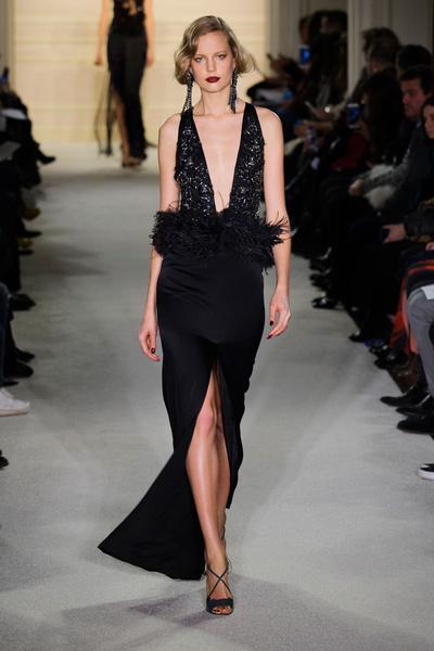 Показ Marchesa на Неделе моды в Нью-Йорке | галерея [1] фото [16]