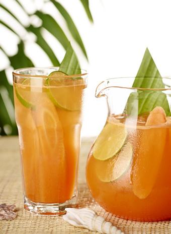 Чайно-цитрусовый пунш