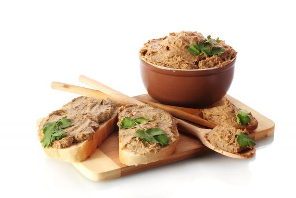 Рецепт паштета из говяжьей печени