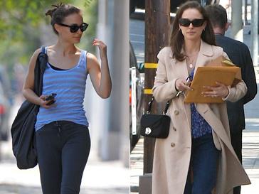 Натали Портман (Natalie Portman) до и после смены имиджа