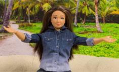 О Барби-толстушке сняли видео