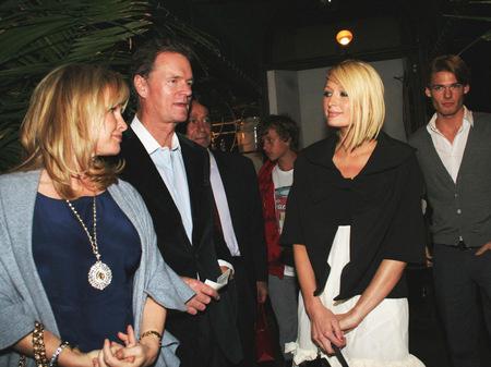 Кэти и Рик Хилтон со свой дочерью