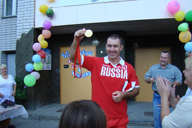 Волгоградские спортсмены Максим Опалев