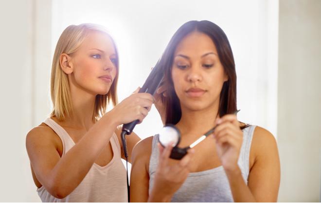 как вытянуть волосы
