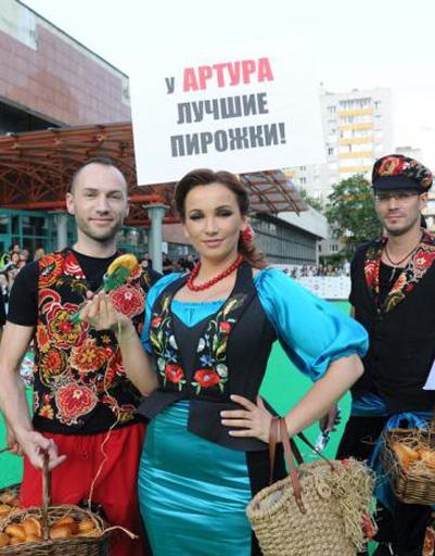 Анфиса Чехова на Премии Муз-ТВ