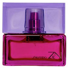 Zen от Shiseido – выразительный, яркий и сладкий аромат летней ночи. Воздействует одновременно на все пять чувств. В верхних нотах слышны ароматы фрезии и ландыша. Средние ноты – мимоза, роза и миндаль. В шлейфе – кедр и белый мускус.