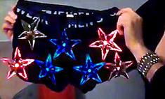 Вот это подарок: трусы со звездами светятся в темноте
