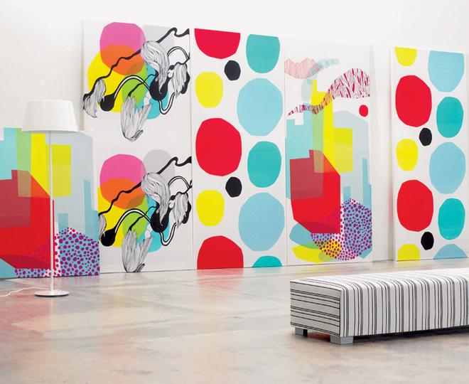 Ткань Nonparelli, Marimekko, дизайн-студия A la Carte.