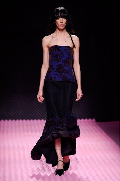Показ Mary Katrantzou на Неделе моды в Лондоне | галерея [1] фото [1]