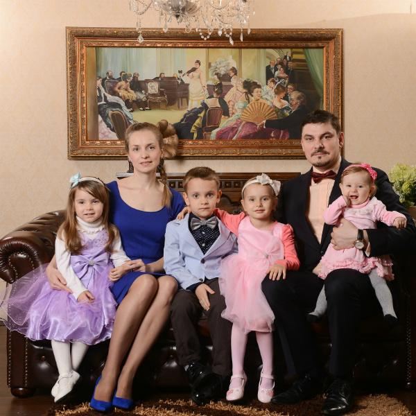 Семья Гордея в сборе