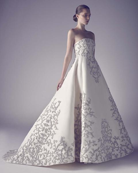 ЗАМУЖ НЕВТЕРПЕЖ: 10 самых красивых свадебных коллекций сезона | галерея [1] фото [12]