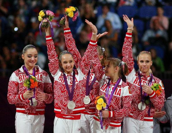 Олимпийские игры в Лондоне 2012: форма команды России