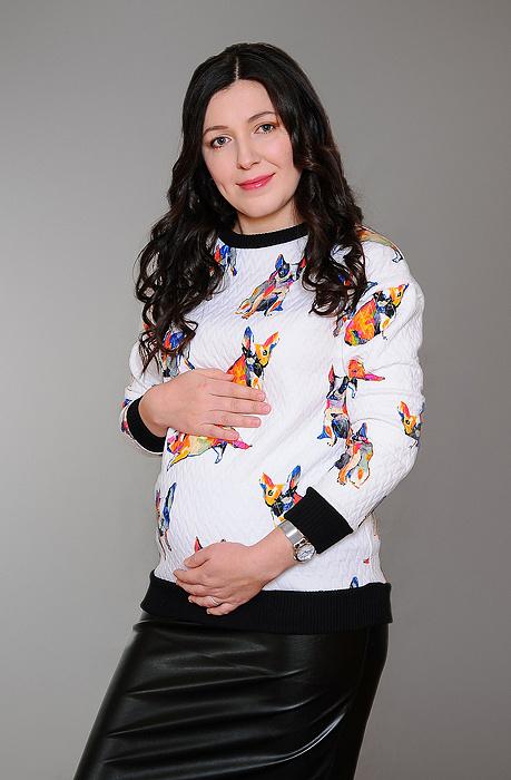 Александра Коровина, участница конкурса «Будущие мамы – 2016», фото