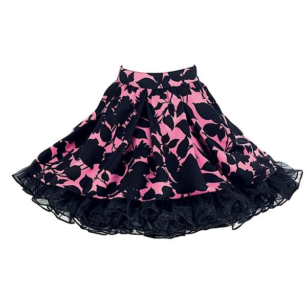 Юбка из хлопка, Moschino и юбка из тюля, Rokit, надетые одна на другую.