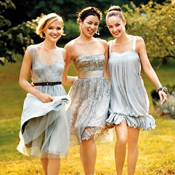 платье подружки невесты: фото