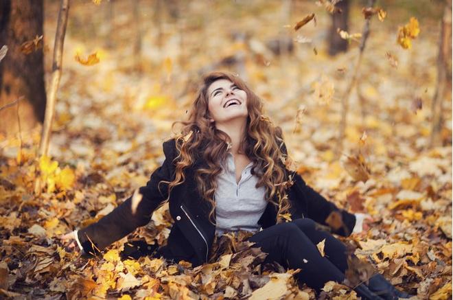 кончилось лето, жара, осень